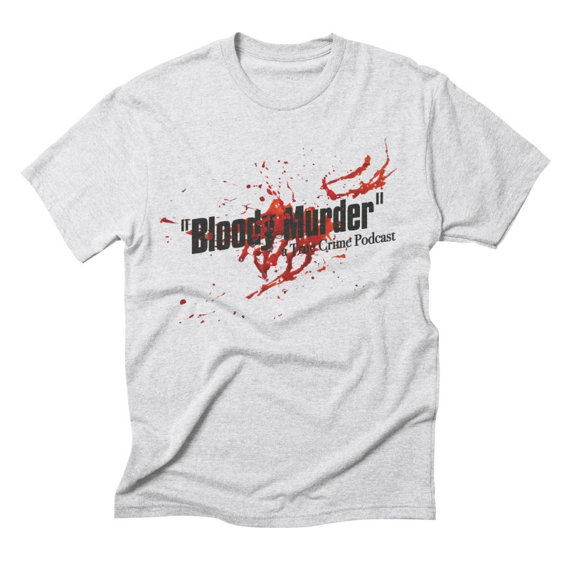 Bloody Murder Bleeding Logo Black Men's Triblend T-Shirt by bloodymurder's Artist Shop