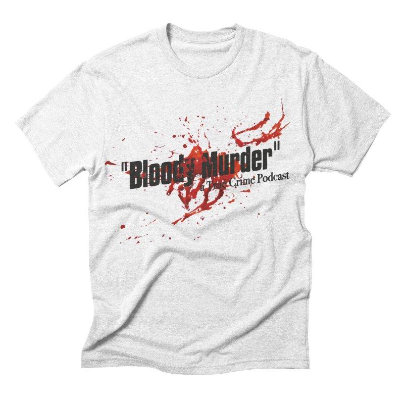 Bloody Murder Bleeding Logo Black Men's Triblend T-shirt by bloodymurder's Artist Shop