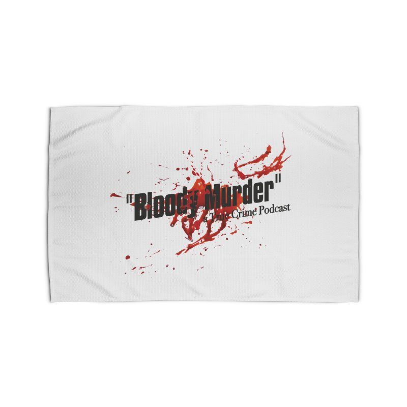 Bloody Murder Bleeding Logo Black Home  by bloodymurder's Artist Shop