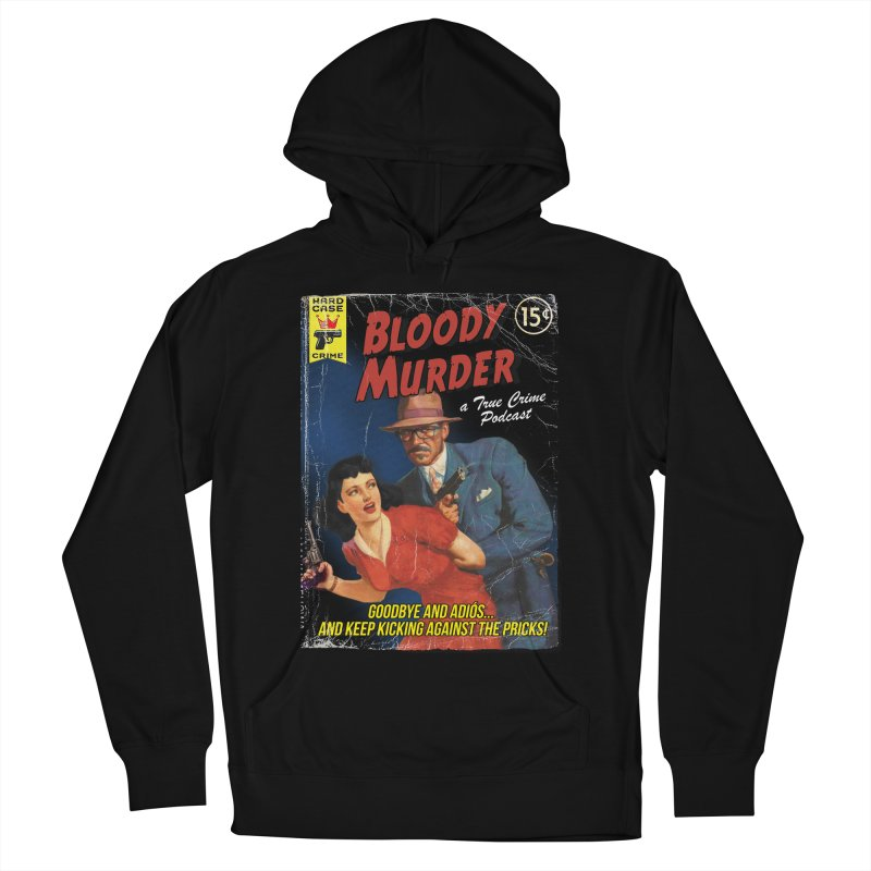 Bloody Murder Pulp Novel Men's Pullover Hoody by bloodymurder's Artist Shop