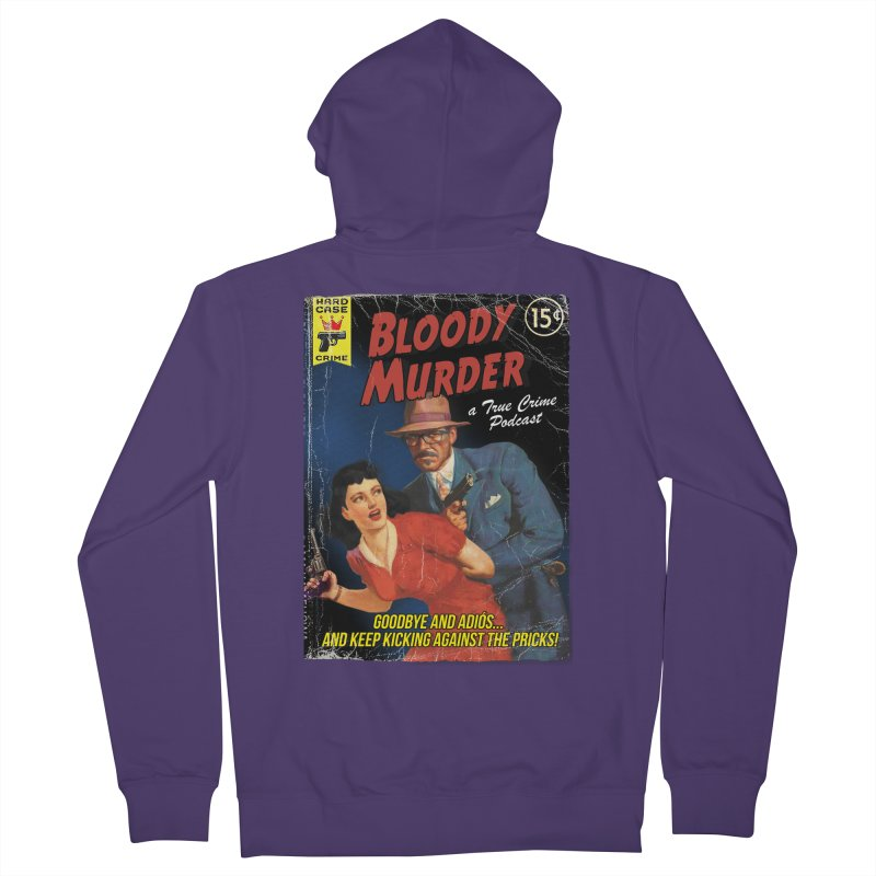 Bloody Murder Pulp Novel Women's Zip-Up Hoody by bloodymurder's Artist Shop