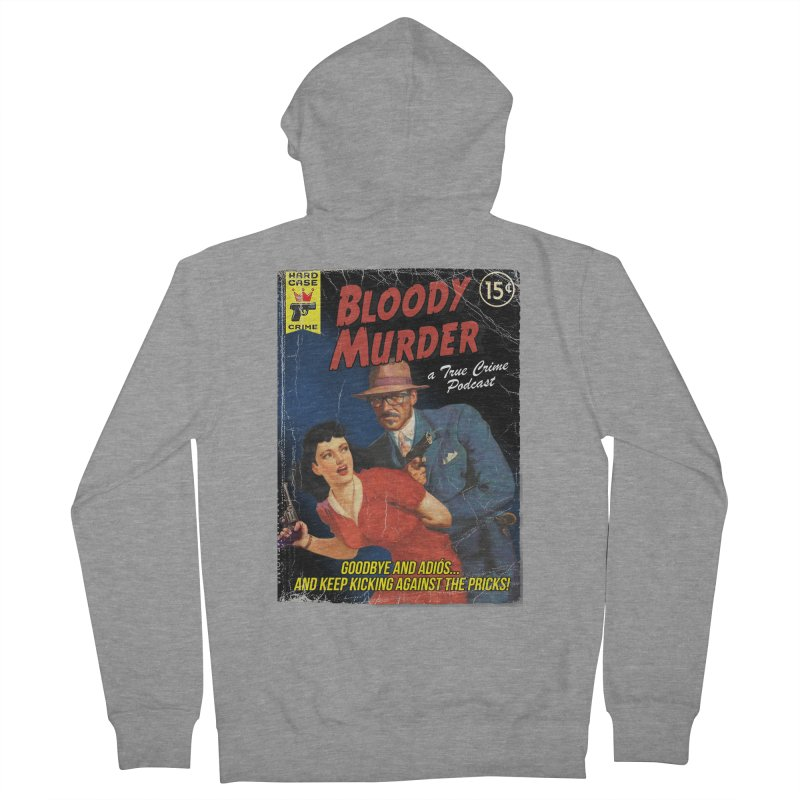Bloody Murder Pulp Novel Men's Zip-Up Hoody by bloodymurder's Artist Shop