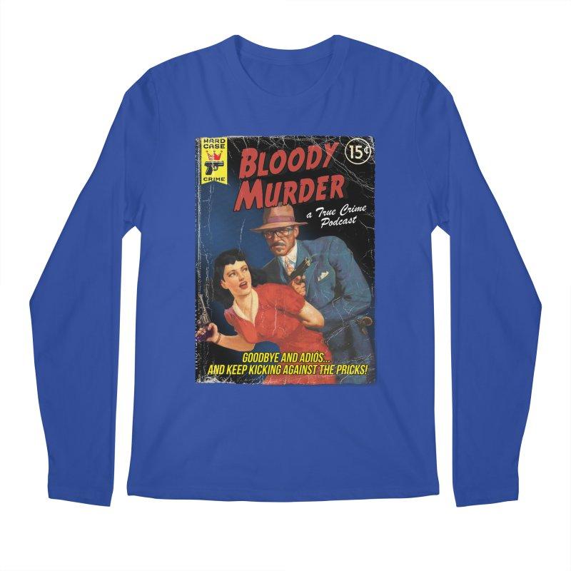 Bloody Murder Pulp Novel Men's Longsleeve T-Shirt by bloodymurder's Artist Shop