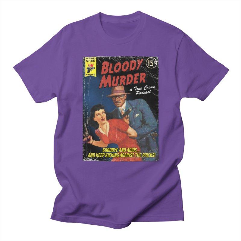 Bloody Murder Pulp Novel Women's Unisex T-Shirt by bloodymurder's Artist Shop