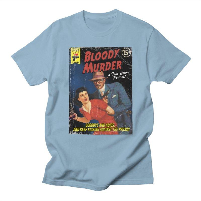 Bloody Murder Pulp Novel Men's T-Shirt by bloodymurder's Artist Shop