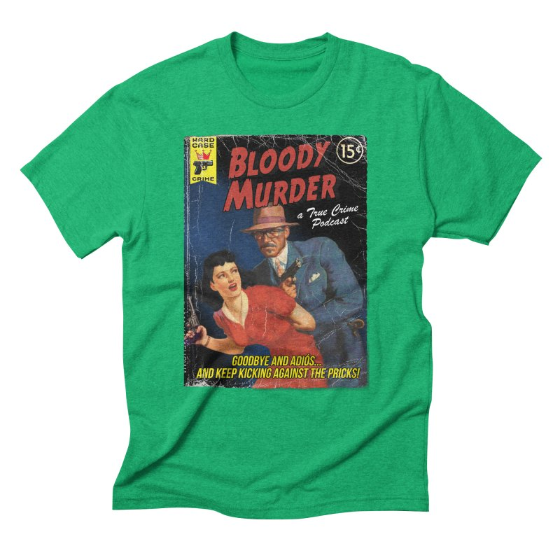 Bloody Murder Pulp Novel Men's Triblend T-Shirt by bloodymurder's Artist Shop