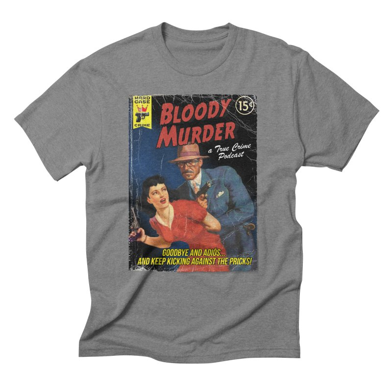 Bloody Murder Pulp Novel Men's  by bloodymurder's Artist Shop