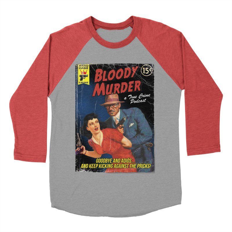 Bloody Murder Pulp Novel Women's Baseball Triblend T-Shirt by bloodymurder's Artist Shop