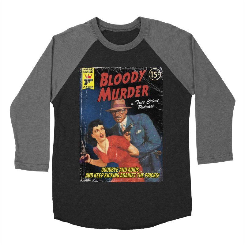 Bloody Murder Pulp Novel Women's Baseball Triblend T-Shirt by bloodymurder's Artist Shop