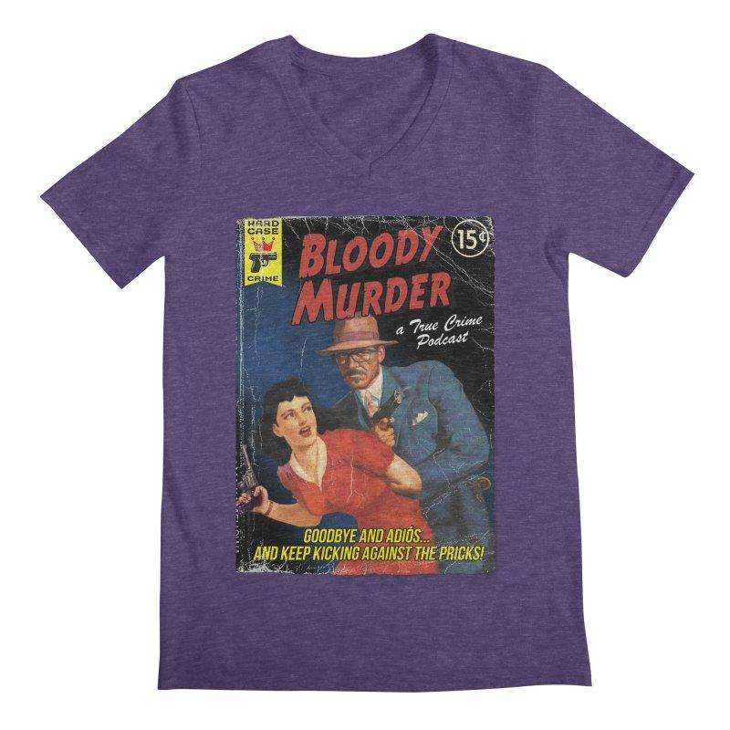 Bloody Murder Pulp Novel Men's V-Neck by bloodymurder's Artist Shop