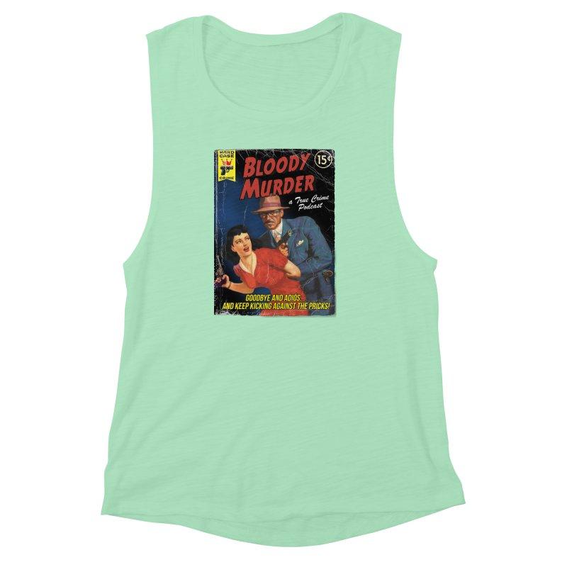 Bloody Murder Pulp Novel Women's Muscle Tank by bloodymurder's Artist Shop