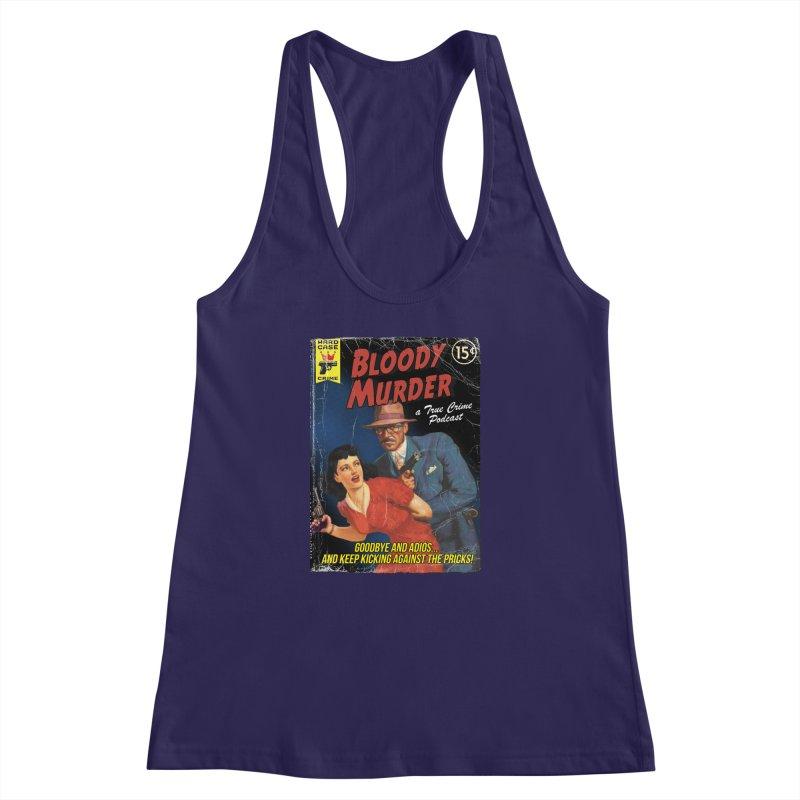 Bloody Murder Pulp Novel Women's Racerback Tank by bloodymurder's Artist Shop