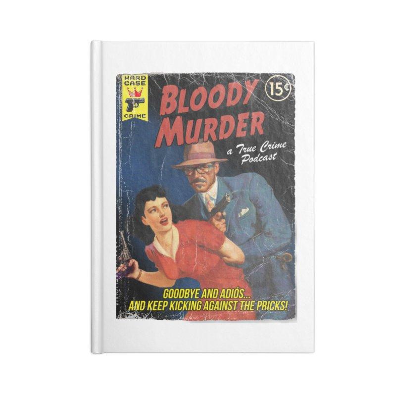 Bloody Murder Pulp Novel Accessories Notebook by bloodymurder's Artist Shop