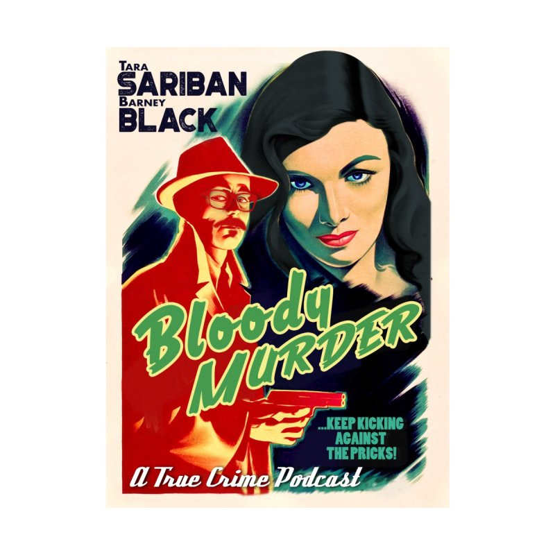 Film Noir Bloody Murder Men's T-Shirt by Bloody Murder's Artist Shop