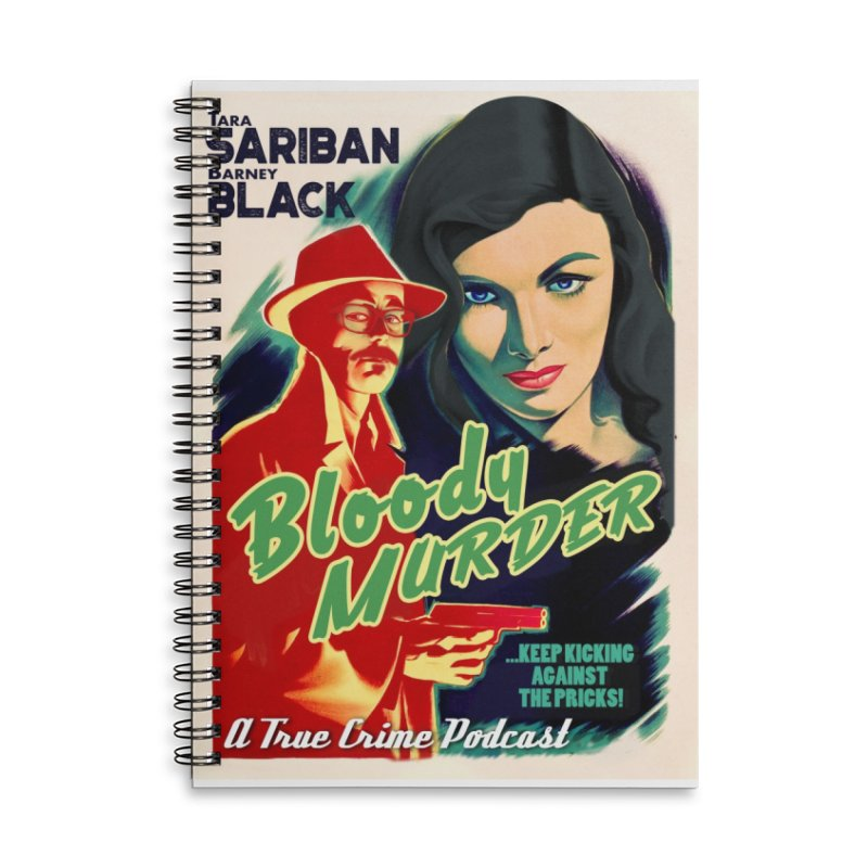 Film Noir Bloody Murder Accessories Notebook by Bloody Murder's Artist Shop