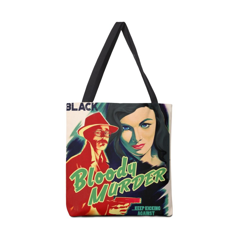 Film Noir Bloody Murder Accessories Bag by Bloody Murder's Artist Shop