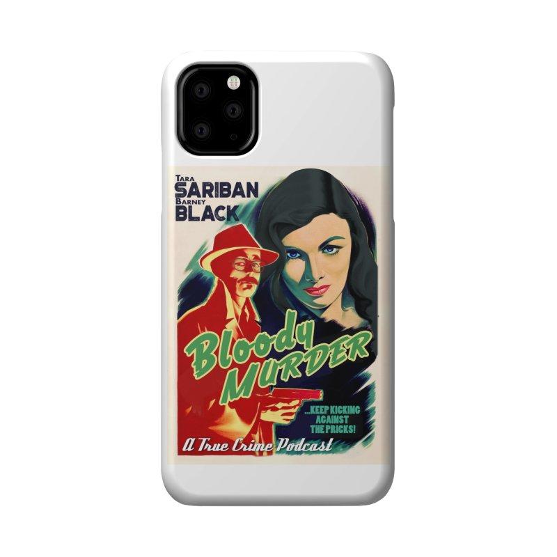 Film Noir Bloody Murder Accessories Phone Case by Bloody Murder's Artist Shop
