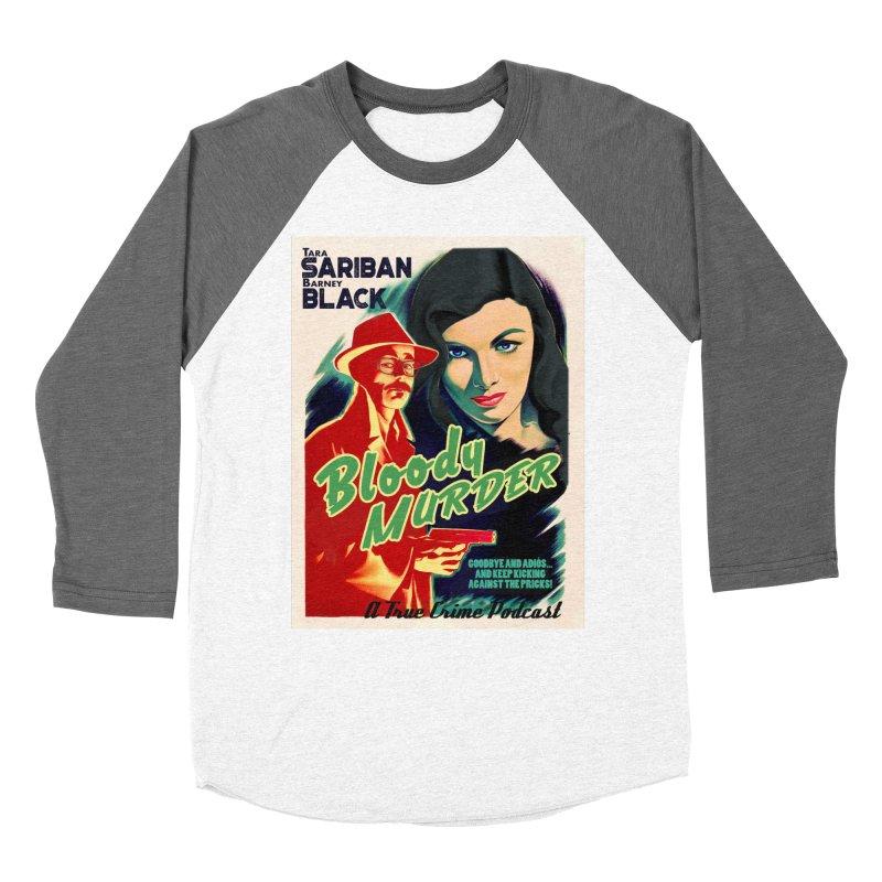 Film Noir Bloody Murder Blue Eyes Women's Longsleeve T-Shirt by Bloody Murder's Artist Shop
