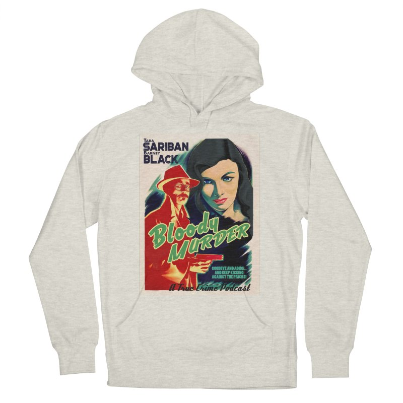 Film Noir Bloody Murder Blue Eyes Men's Pullover Hoody by bloodymurder's Artist Shop