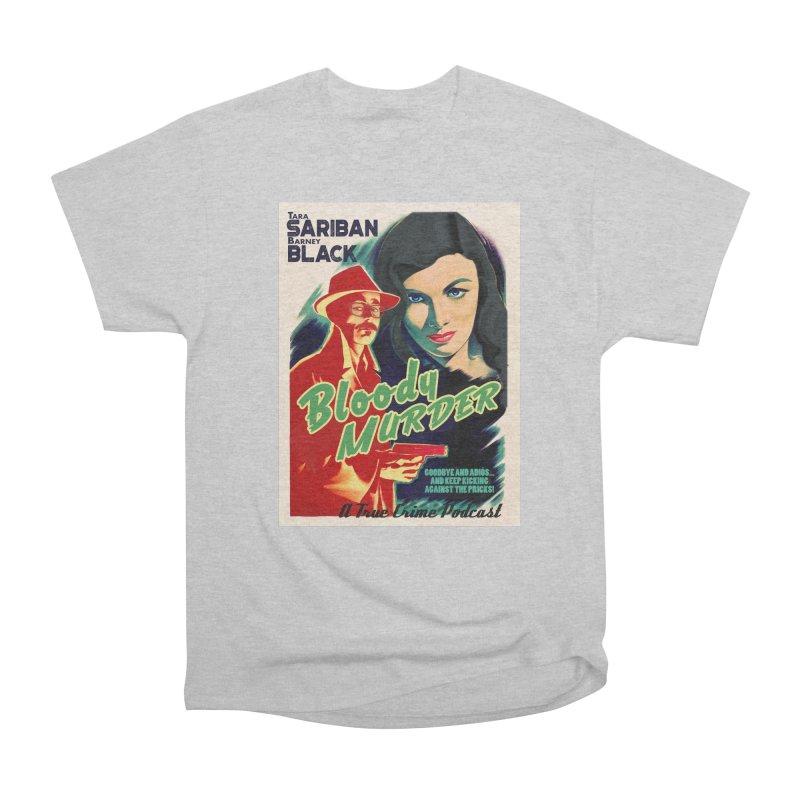 Film Noir Bloody Murder Blue Eyes Women's Classic Unisex T-Shirt by bloodymurder's Artist Shop