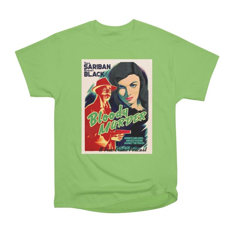 Film Noir Bloody Murder Blue Eyes Men's Heavyweight T-Shirt by bloodymurder's Artist Shop
