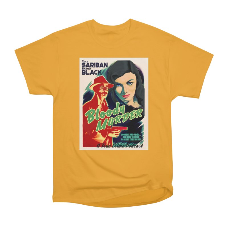 Film Noir Bloody Murder Blue Eyes Women's Classic Unisex T-Shirt by bloodymurder's Artist Shop
