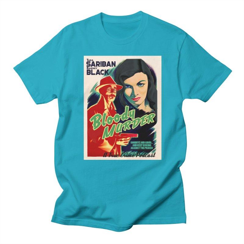 Film Noir Bloody Murder Blue Eyes Women's Regular Unisex T-Shirt by bloodymurder's Artist Shop