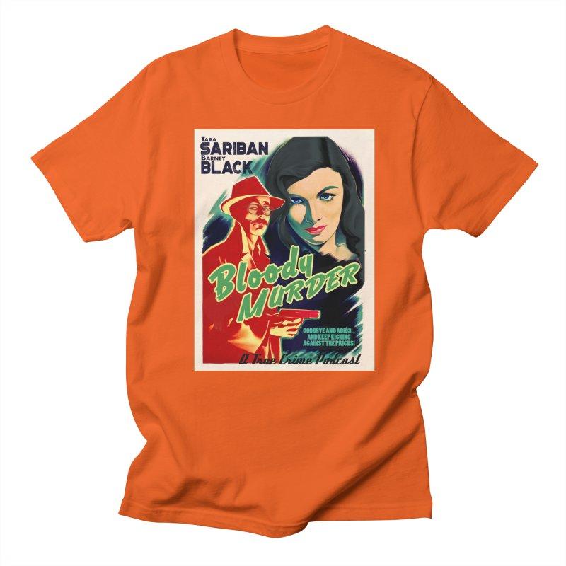 Film Noir Bloody Murder Blue Eyes Women's Regular Unisex T-Shirt by Bloody Murder's Artist Shop