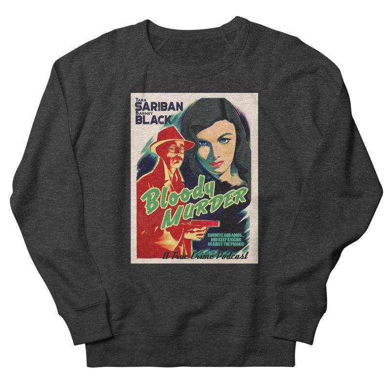 Film Noir Bloody Murder Blue Eyes Men's Sweatshirt by bloodymurder's Artist Shop