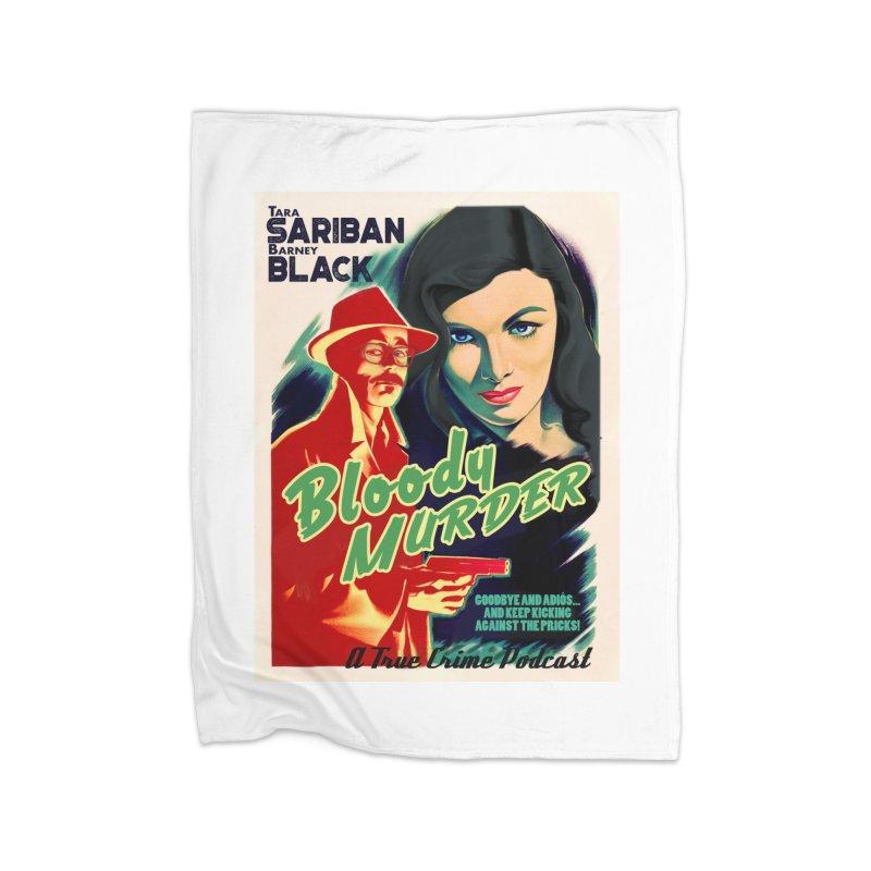 Film Noir Bloody Murder Blue Eyes Home Blanket by bloodymurder's Artist Shop
