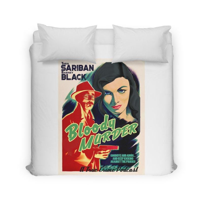 Film Noir Bloody Murder Blue Eyes Home Duvet by bloodymurder's Artist Shop