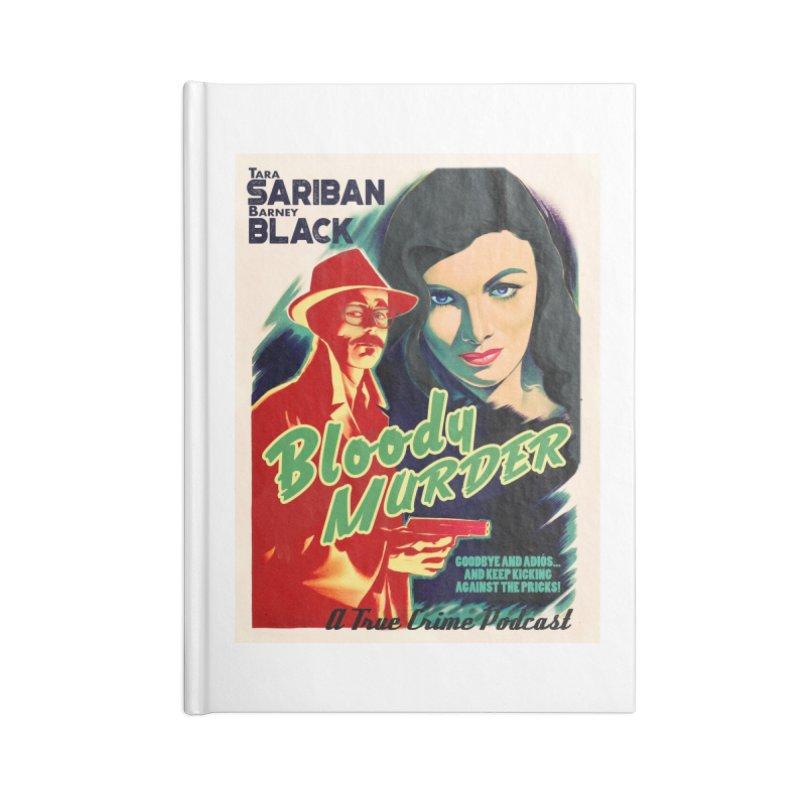 Film Noir Bloody Murder Blue Eyes Accessories Notebook by bloodymurder's Artist Shop