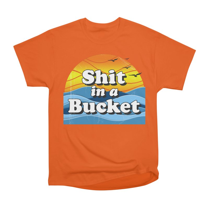Shit in a Bucket 1976 Men's T-Shirt by Bloody Murder's Artist Shop