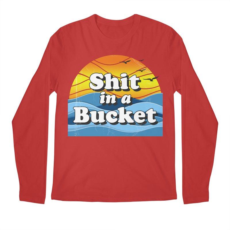 Shit in a Bucket 1976 Men's Regular Longsleeve T-Shirt by bloodymurder's Artist Shop