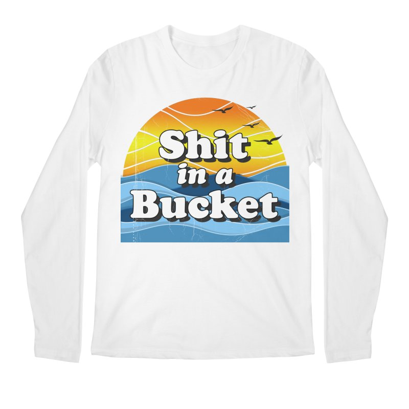 Shit in a Bucket 1976 Men's Regular Longsleeve T-Shirt by bloodymurder's Artist Shop