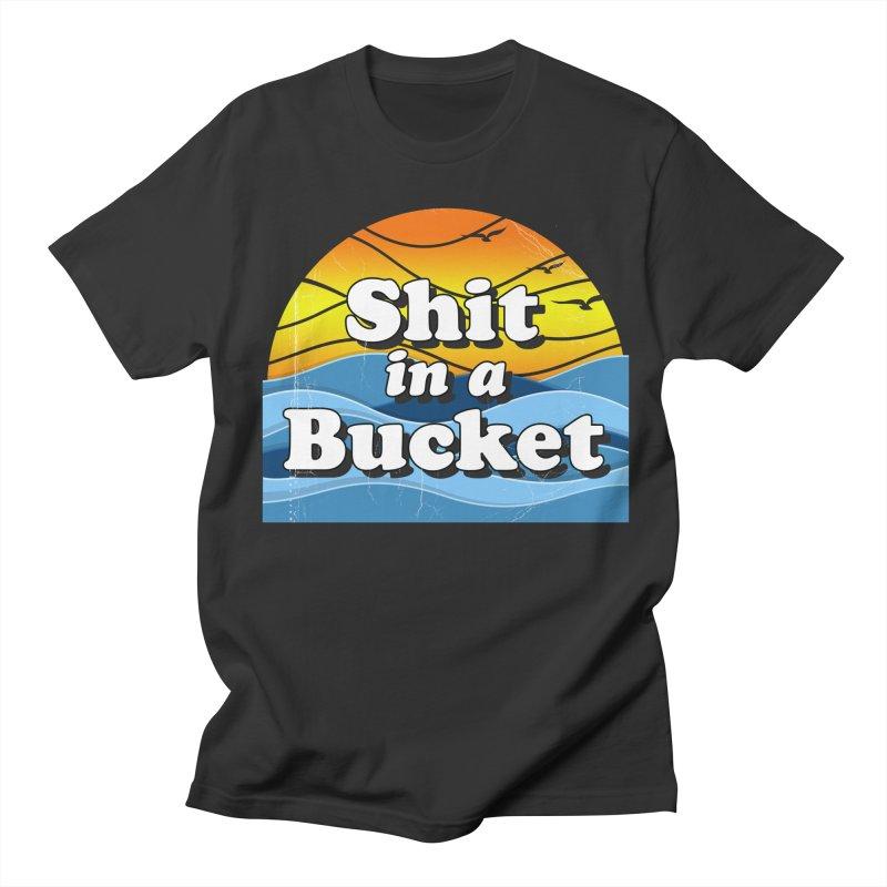 Shit in a Bucket 1976 Men's T-Shirt by bloodymurder's Artist Shop