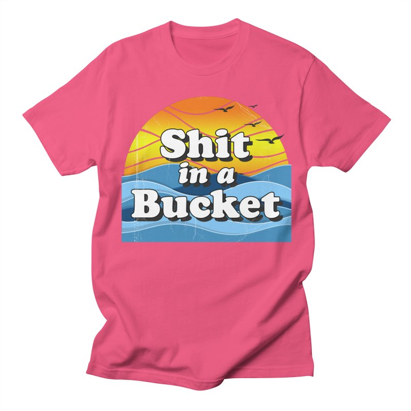 Shit in a Bucket 1976 Men's T-Shirt by Bloody Murder's Artist Shop