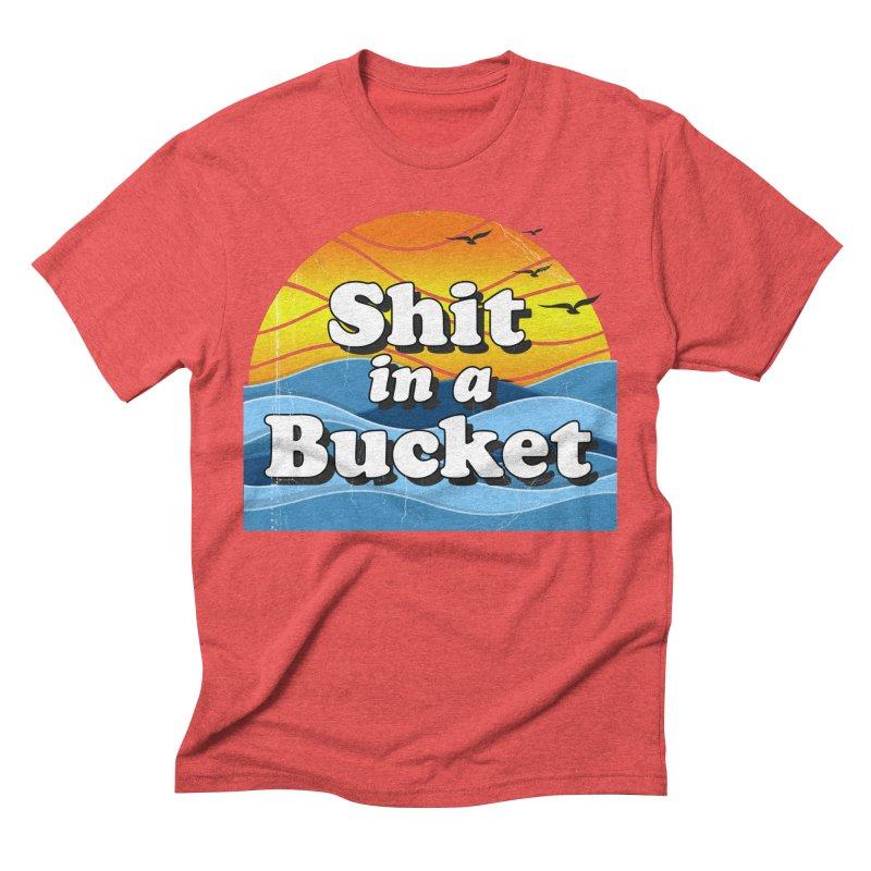 Shit in a Bucket 1976 Men's Triblend T-Shirt by bloodymurder's Artist Shop