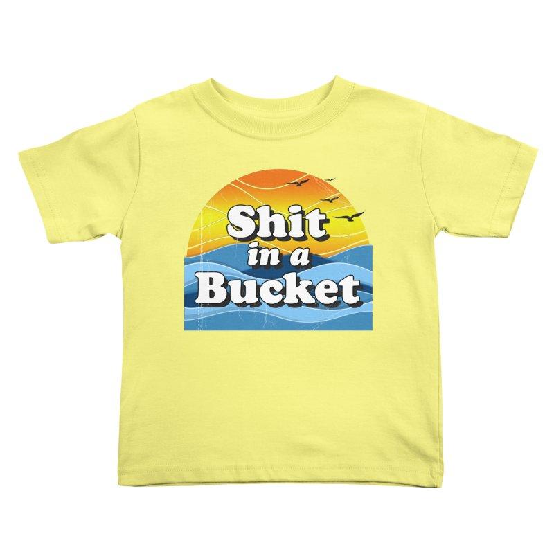 Shit in a Bucket 1976 Kids Toddler T-Shirt by Bloody Murder's Artist Shop