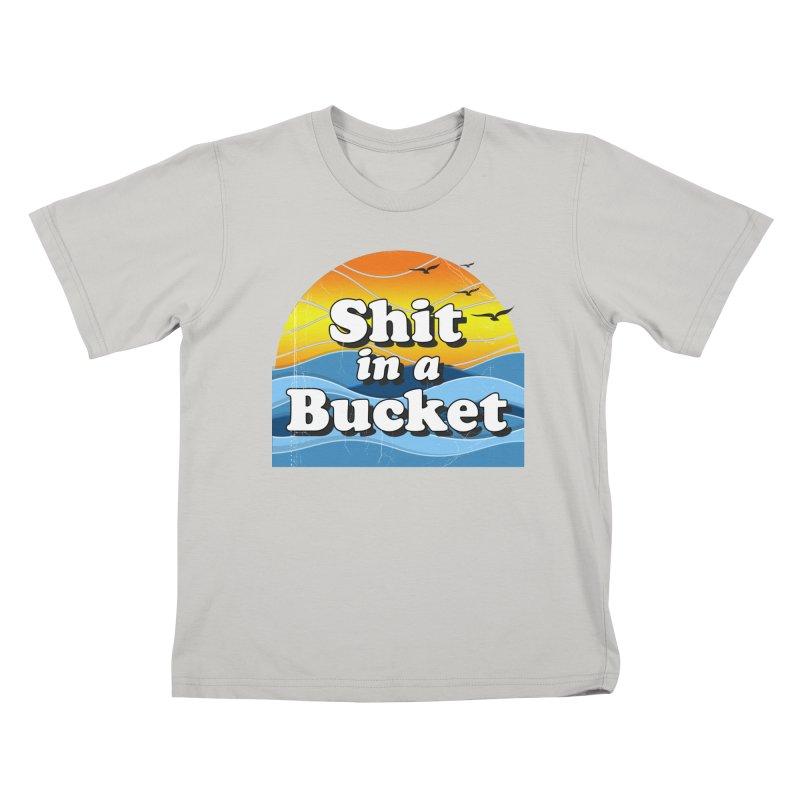 Shit in a Bucket 1976 Kids T-Shirt by bloodymurder's Artist Shop