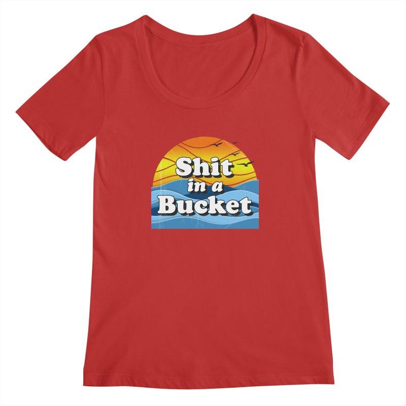 Shit in a Bucket 1976 Women's Regular Scoop Neck by bloodymurder's Artist Shop