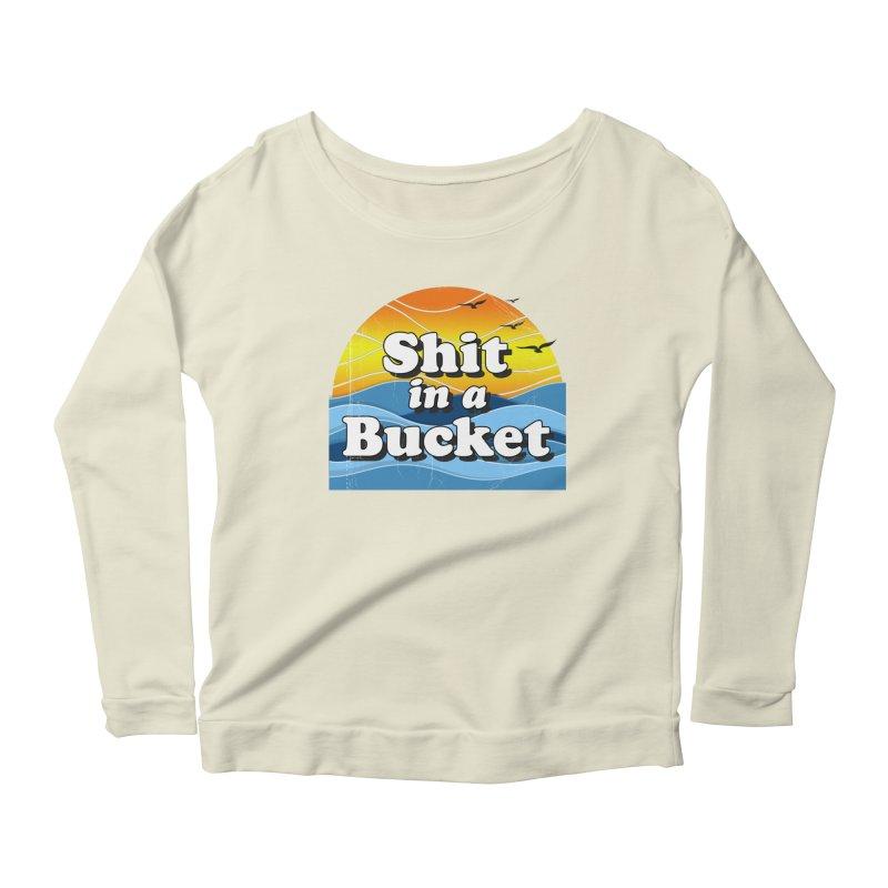 Shit in a Bucket 1976 Women's Scoop Neck Longsleeve T-Shirt by bloodymurder's Artist Shop