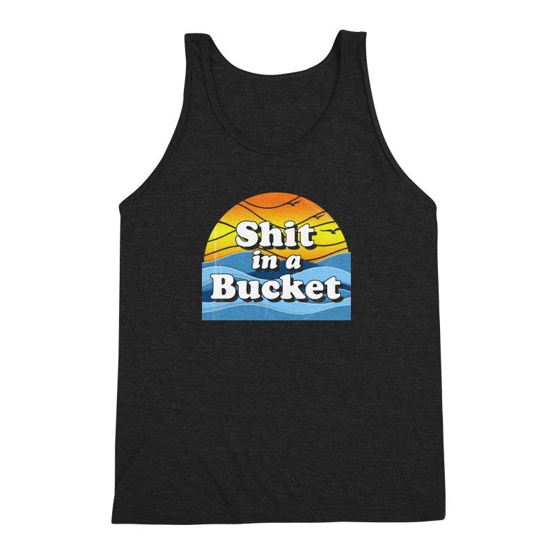 Shit in a Bucket 1976 Men's Triblend Tank by bloodymurder's Artist Shop