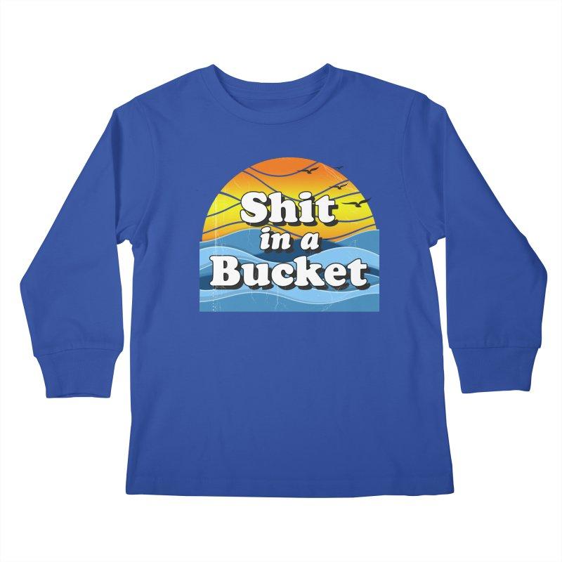 Shit in a Bucket 1976 Kids Longsleeve T-Shirt by bloodymurder's Artist Shop
