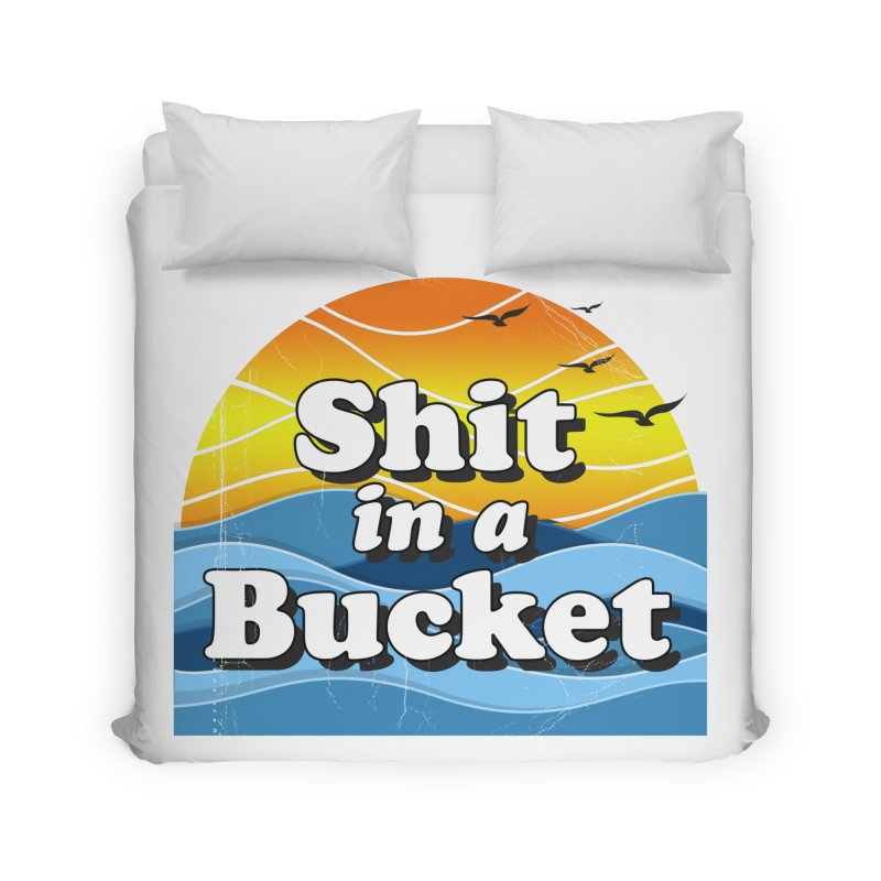 Shit in a Bucket 1976 Home Duvet by bloodymurder's Artist Shop