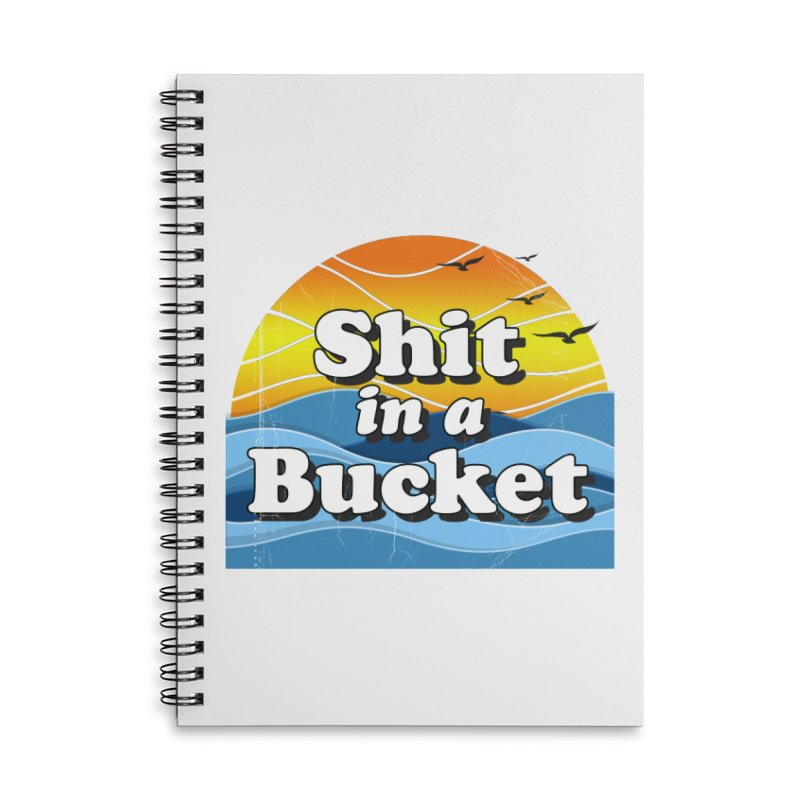 Shit in a Bucket 1976 Accessories Notebook by Bloody Murder's Artist Shop
