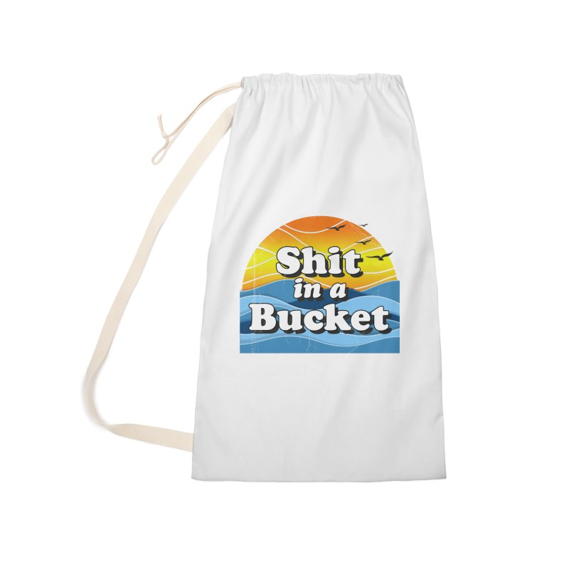 Shit in a Bucket 1976 Accessories Laundry Bag Bag by Bloody Murder's Artist Shop