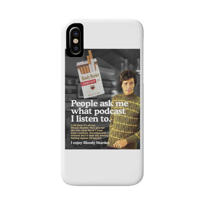 Bloody Murder 1970's Magazine Style Advert Accessories Phone Case by bloodymurder's Artist Shop
