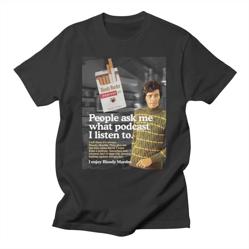 Bloody Murder 1970's Magazine Style Advert Men's T-Shirt by Bloody Murder's Artist Shop