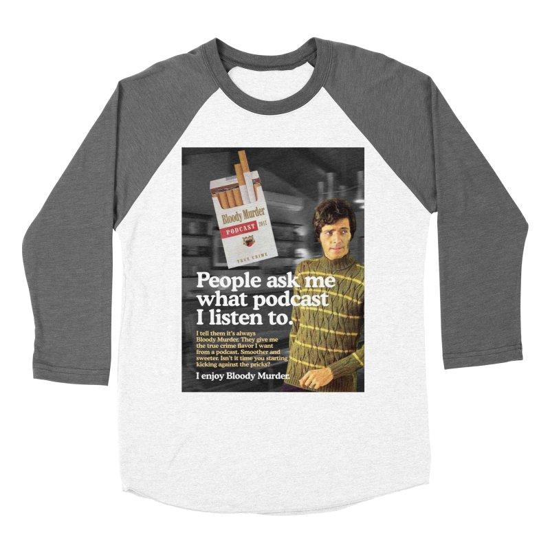 Bloody Murder 1970's Magazine Style Advert Women's Longsleeve T-Shirt by Bloody Murder's Artist Shop